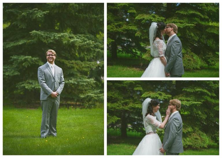 Ali Lauren - Regina Wedding Photography - wedding first look (6)