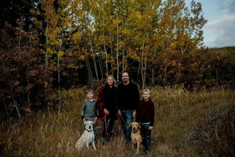 Regina Family Photographer - Fall Family Photographs